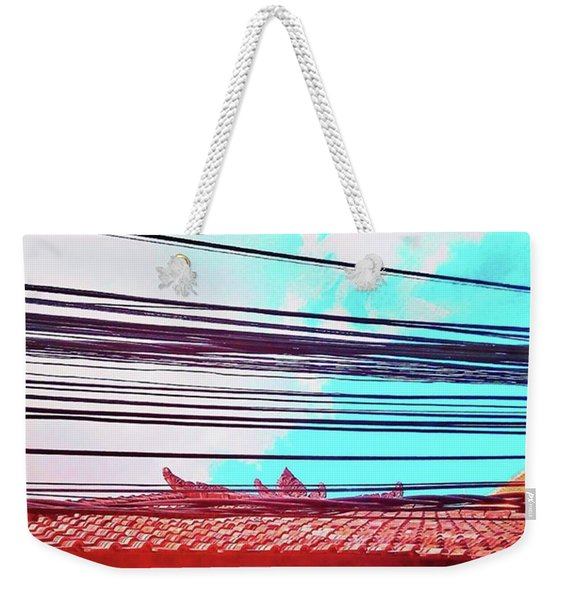 Wherever You Go In #bali, You Will Find Weekender Tote Bag
