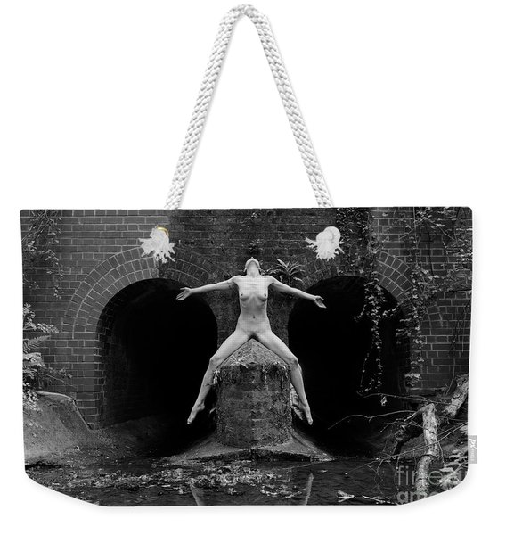 Weekender Tote Bag featuring the photograph Which Way? by Clayton Bastiani