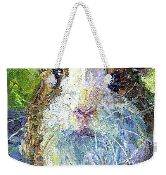 Whimsical Guinea Pig Painting Print Weekender Tote Bag