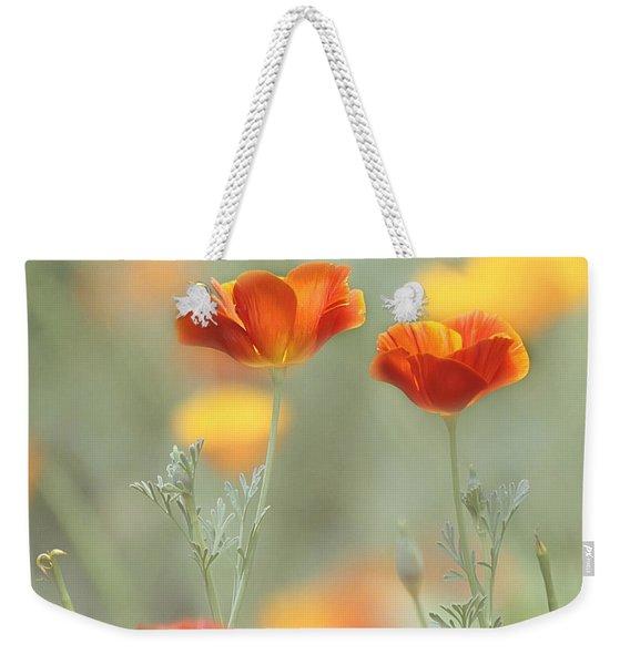 Whimsical Summer Weekender Tote Bag