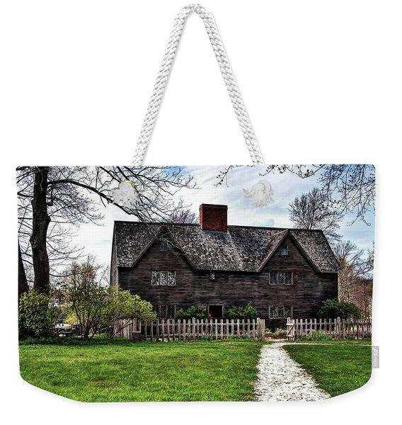 The John Whipple House In Ipswich Weekender Tote Bag