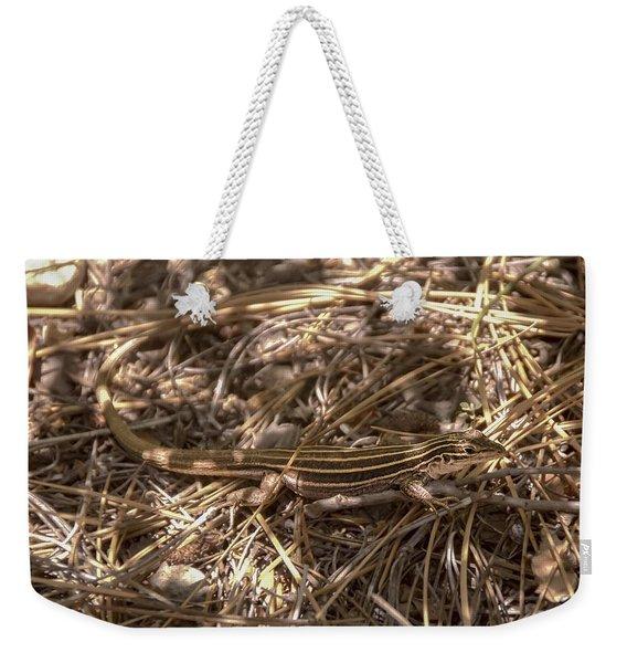 Whiptail Lizard Weekender Tote Bag