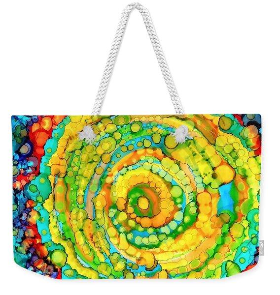 Whirling Weekender Tote Bag
