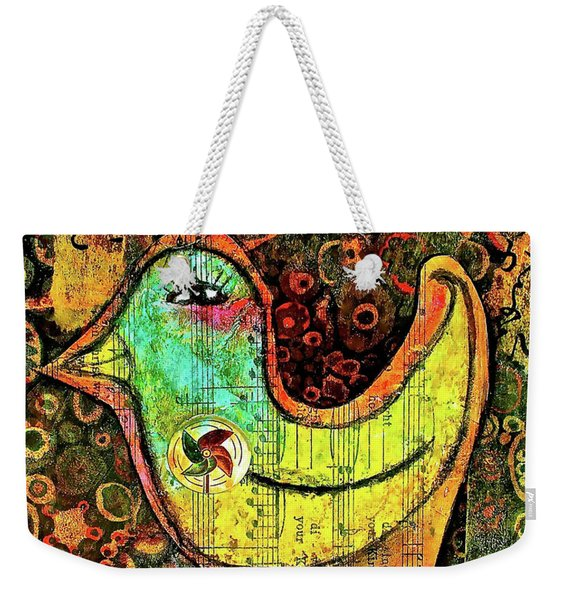 Whirly Bird Weekender Tote Bag