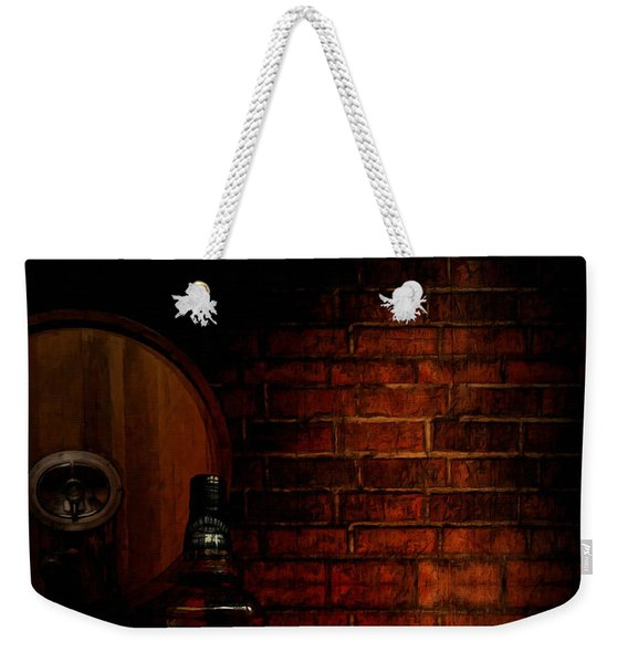 Whiskey Fancy Weekender Tote Bag