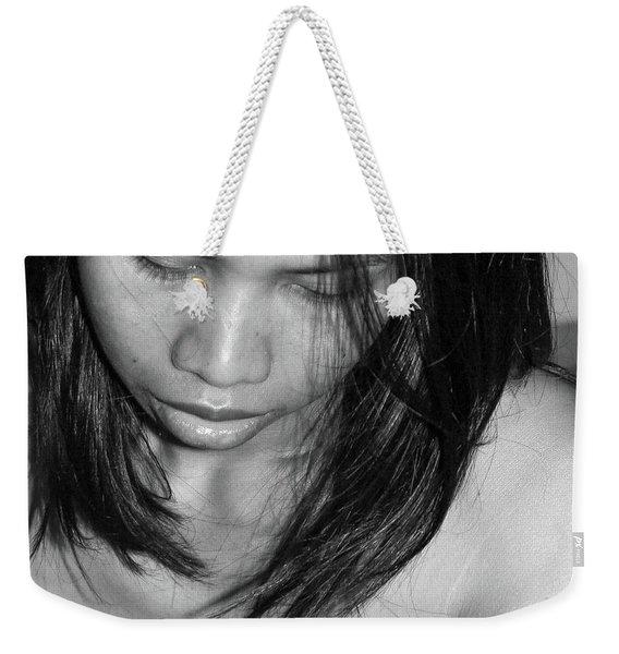 Whispering Hair Weekender Tote Bag