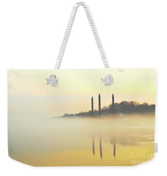 Whispers In The Wind - Contemporary Art Weekender Tote Bag