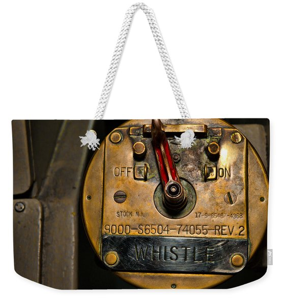 Whistle Switch Weekender Tote Bag