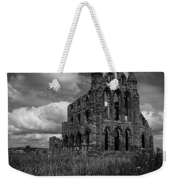 Whitby Abbey, North York Moors Weekender Tote Bag