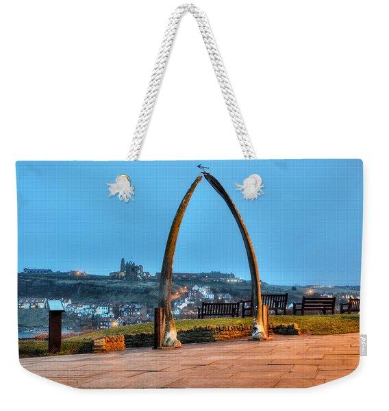 Whitby Whalebone Blue Hour Weekender Tote Bag