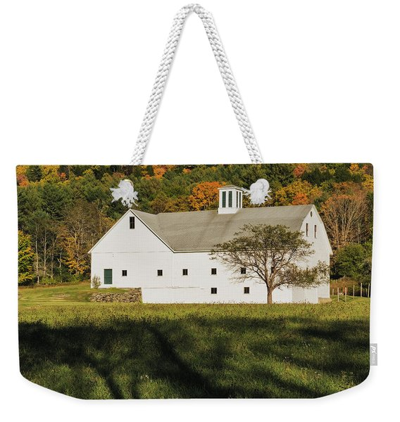White Barn In Color Weekender Tote Bag