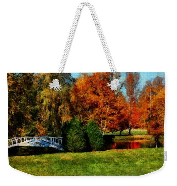 White Bridge Oro Weekender Tote Bag
