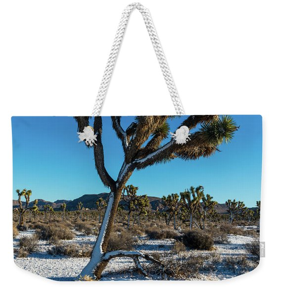 White Christmas 2016 Weekender Tote Bag