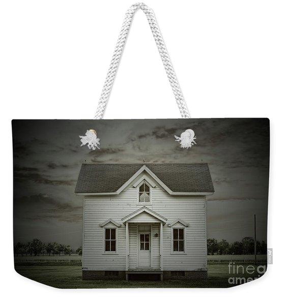 White Clapboard Weekender Tote Bag