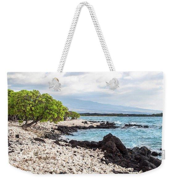White Coral Coast Weekender Tote Bag