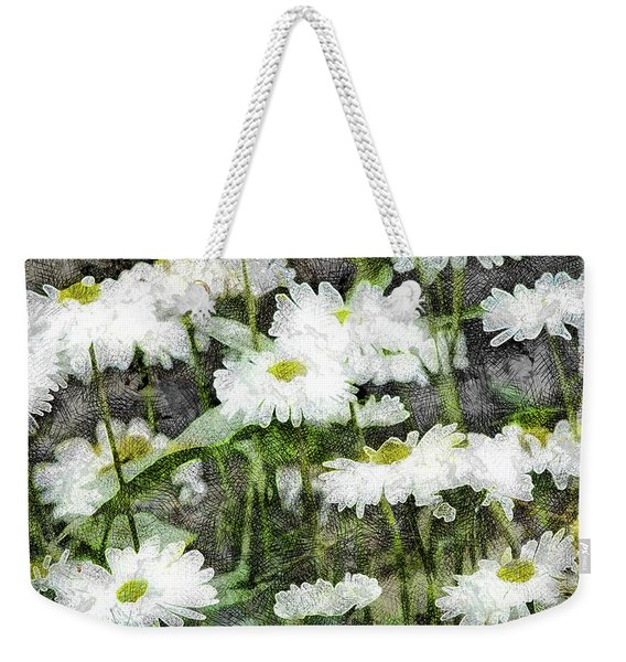White Drops.. Weekender Tote Bag