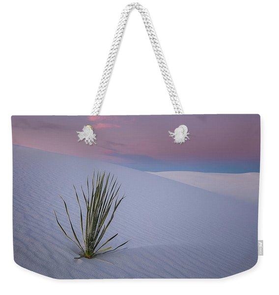 White Dunes Weekender Tote Bag
