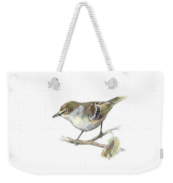 White-eyed Vireo Weekender Tote Bag