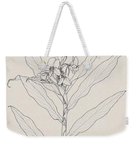 White Ginger Weekender Tote Bag