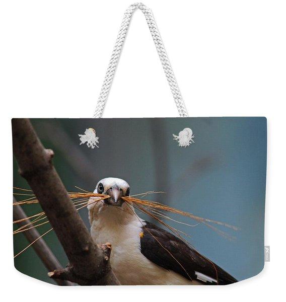 White-headed Buffalo Weaver Weekender Tote Bag