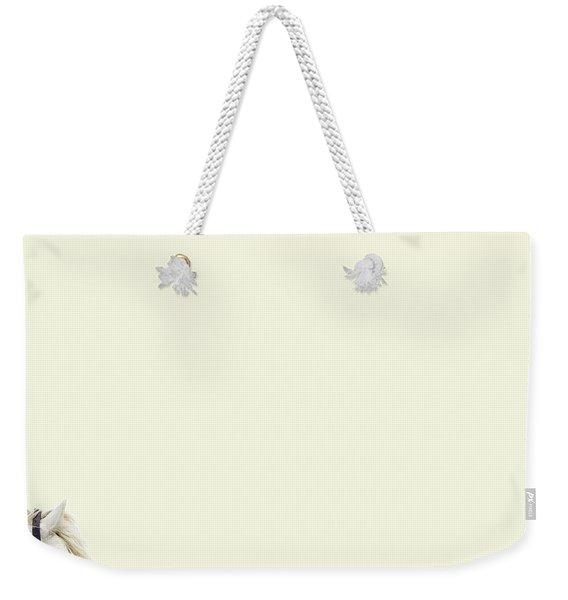 White Hourse Weekender Tote Bag