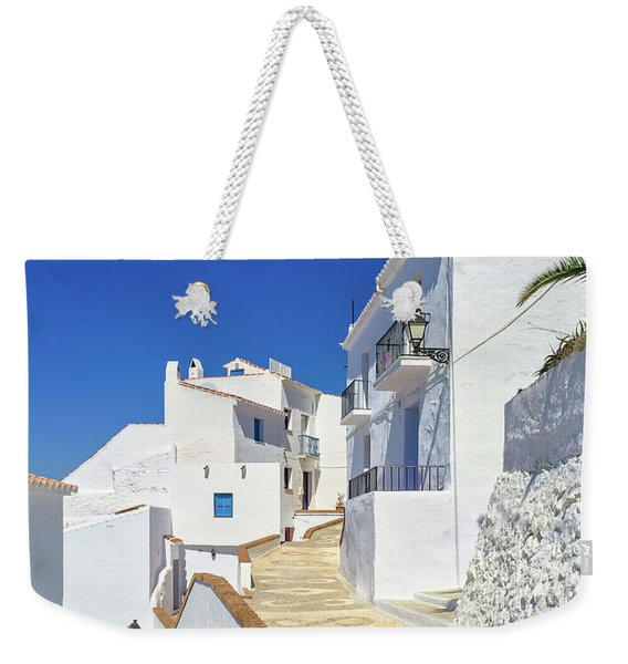 White Houses And Blue Sky Of Andalusia Weekender Tote Bag