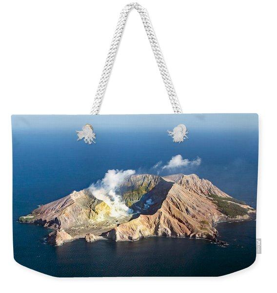 White Island Weekender Tote Bag