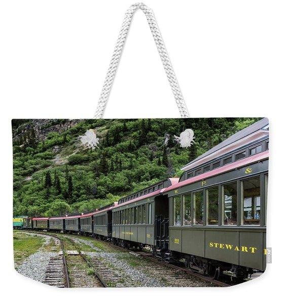 White Pass And Yukon Railway Weekender Tote Bag