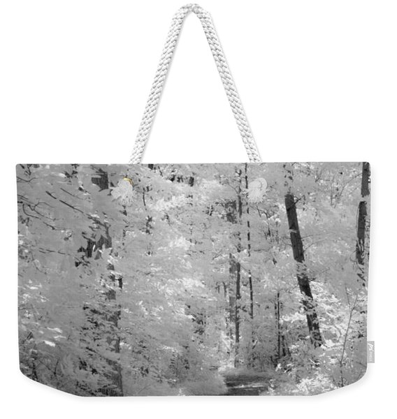 White Path Weekender Tote Bag