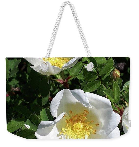 White Perfection Weekender Tote Bag