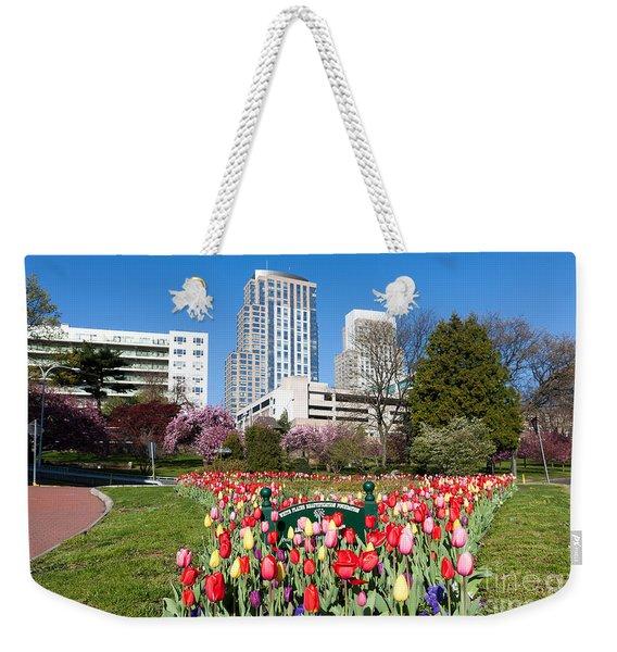 White Plains Beautification Foundation Garden Weekender Tote Bag