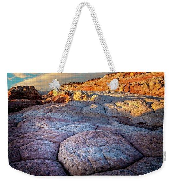 White Pocket Rocks Weekender Tote Bag