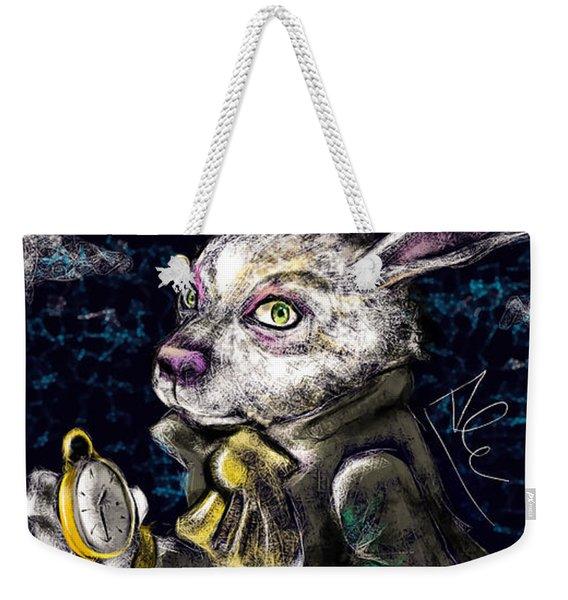 White Rabbit Weekender Tote Bag