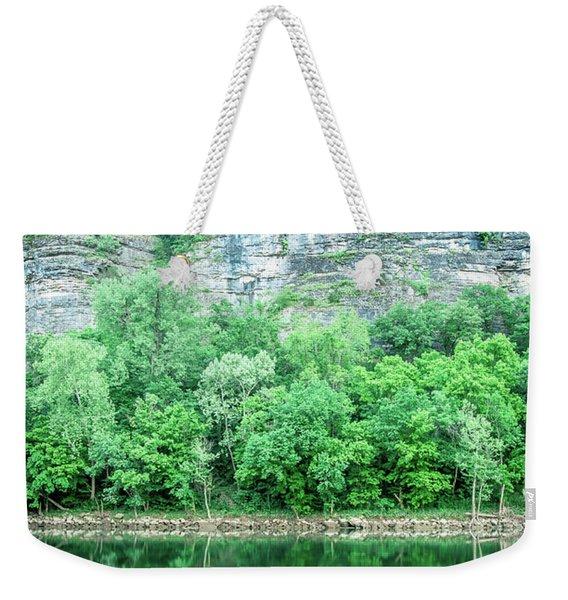 White River, Arkansas 4 Weekender Tote Bag