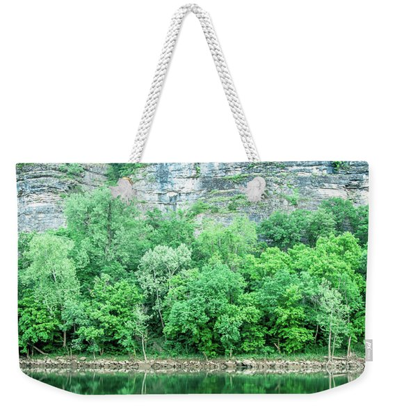 White River, Arkansas 4 Weekender Tote Bag