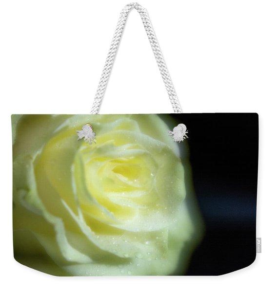 White Rose 4 Soft Weekender Tote Bag