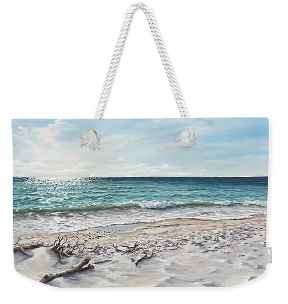 White Sands Of Tiger Tail Weekender Tote Bag