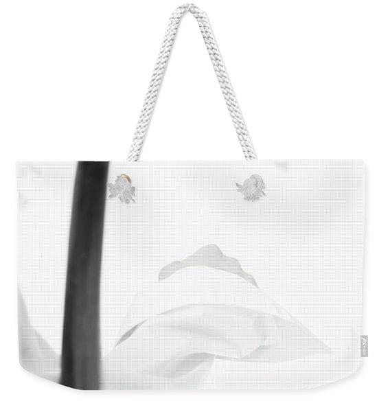 White Shirt #5578 Weekender Tote Bag