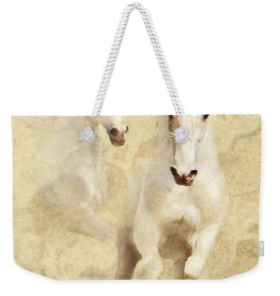 White Thunder Weekender Tote Bag