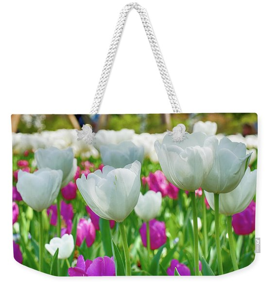 White Tulips 71116 Weekender Tote Bag