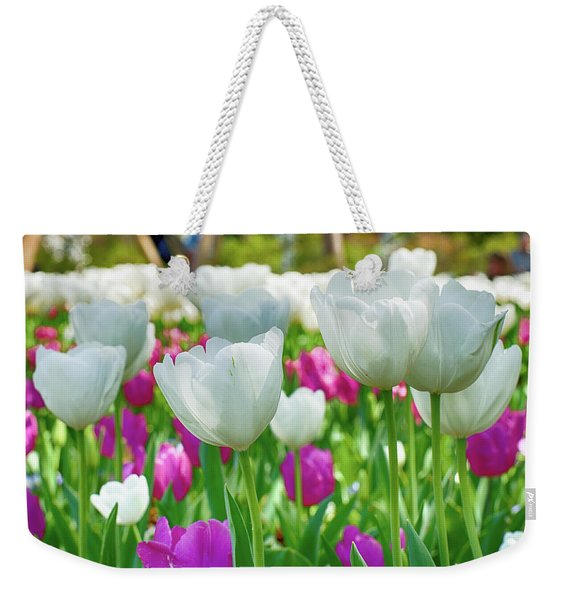 White Tulips 71116 Weekender Tote Bag