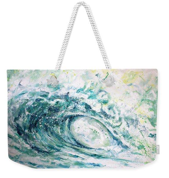 White Wash Weekender Tote Bag