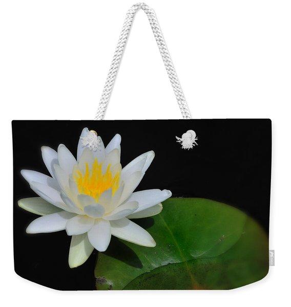 White Water Lily Weekender Tote Bag
