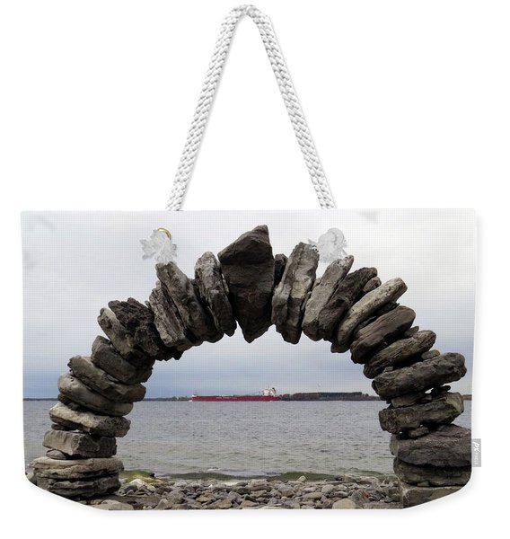 Whitefish Bay Under The Arch Weekender Tote Bag