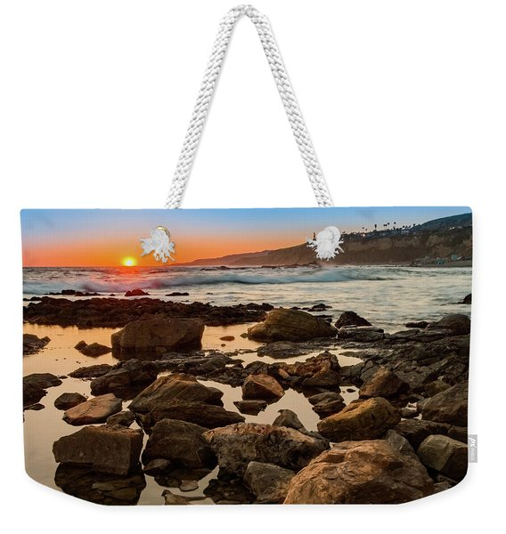 White's Point Sunset 2 Weekender Tote Bag