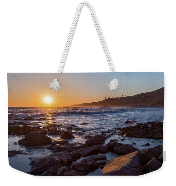White's Point Sunset Weekender Tote Bag