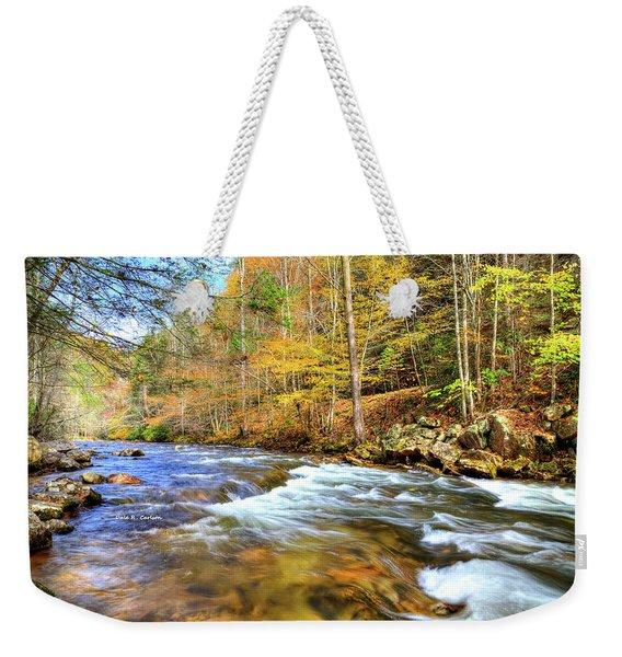 Whitetop River Fall Weekender Tote Bag