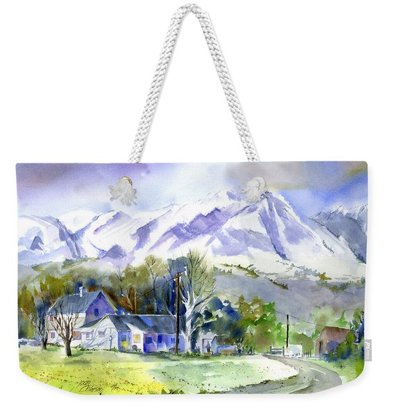 Whitney's White House Ranch Weekender Tote Bag