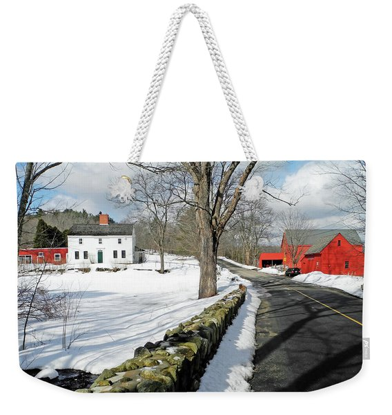 Whittier Birthplace Weekender Tote Bag