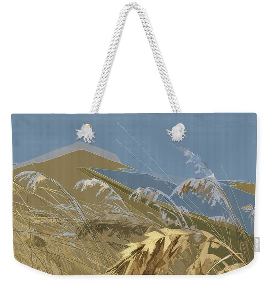 Weekender Tote Bag featuring the digital art Who Has Seen The Wind? by Gina Harrison